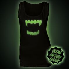 Glow in the Dark Women's Tops & Vests - Glow Clothing Ethical Clothing, Vests, The Darkest, Women's Tops, Glow, T Shirt, Clothes, Ethical Fashion, Supreme T Shirt