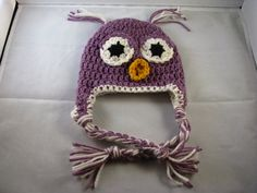 Crochet Korner Crochet Owl Hat  Any Size  This by CrochetKorner, $20.00
