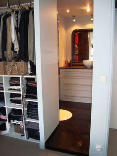 Plus de 1000 id es propos de s paration chambre sdb for Dressing dans la chambre