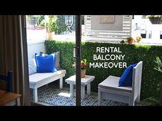 My LA balcony is get