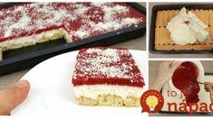 Chutí úplne ako nanuková torta: Letná piškótová bomba s ovocím a čokoládou – a žiadne pečenie! No Bake Cake, Tiramisu, Baking Cakes, Ethnic Recipes, Food, Essen, Meals, Tiramisu Cake, Yemek