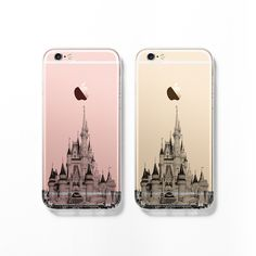 Disney castle skyline iPhone 6s case C085