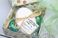 Spa Gift Basket Women's Gift Set Soap Gift by GwensHomemadeGifts