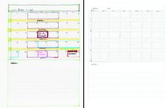 templates for family organizing notebook