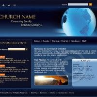 20 creatively designed church websites for a better web design