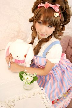 Sweet lolita. Lolita Dulce. Soft Toy. Peluche