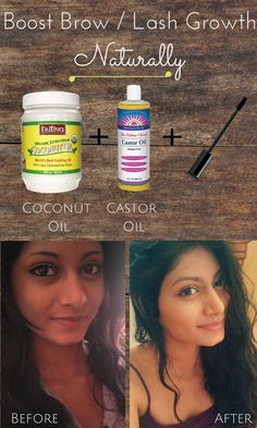 DIY: Boost Eyebrow / Lash Growth Naturally .. this stuff WORKS!