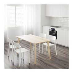$149 LISABO Table IKEA Easy to assemble as each leg has only one screw.