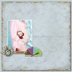 "Made with #CarolineB ""Tenderness"" kits. http://www.CarolineB-Design.com MyMemories"