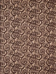 Coquina in Brown from Michael S. Smith #fabric #textiles #hemp #shells #pattern #brown #interiordesign