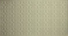 Introducing our newest addition to our decorative faux tin ceiling tiles line! A NEW COLOR! Adding it to 5 of our patterns! Call or email to request samples! Looks amazing with all colors (blues, greens, reds, etc!) Shown in Pattern Faux Tin Ceiling Tiles, Tin Tiles, Solid Surface, Popcorn Ceiling, Ceiling Panels, Metal Panels, Tile Patterns, Repeating Patterns, All The Colors