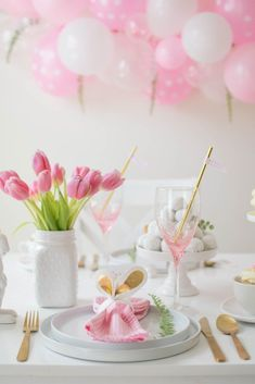 Check out our fun ideas on how to set up a pretty tablescape for a Spring Tea Pa. Check out our fun ideas on how to set up a pretty tablescape for a Spring Tea Pa… – Spring/East Mini Sandwiches, Tea Party Birthday, Easter Party, Easter Table, 70th Birthday, Birthday Ideas, Diy Party, Party Favors, Party Ideas