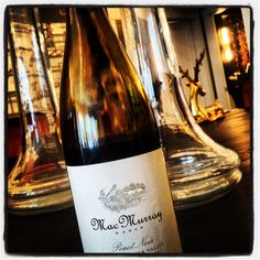 pulchritudinous #pinot for the price ($25). macmurray ranch 2010: medium-weight w cranberry, floral nose & a silky, persistent finish
