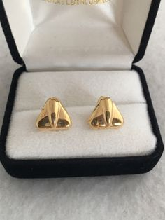 A personal favorite from my Etsy shop https://www.etsy.com/listing/512120887/14k-gold-inflight-style-triangular