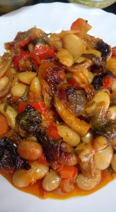 Vegetable Dishes, Vegetable Recipes, Cyprus Food, Cooking Recipes, Healthy Recipes, Food Tasting, Slow Food, Bean Recipes, Greek Recipes