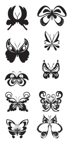 KLDezign les SVG: D'autres papillons