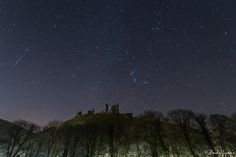 """""""@metoffice Certainly did... caught this one at Corfe Castle, Dorset"""""""