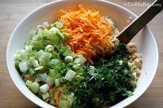 Ρεβύθια σαλάτα με κουσκούς και κάρυ Healthy Food, Healthy Recipes, Seaweed Salad, Risotto, Grains, Rice, Ethnic Recipes, Healthy Foods, Healthy Eating Recipes