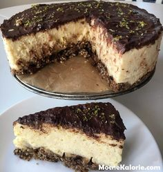 Low Carb Desserts, Healthy Desserts, Raw Food Recipes, Low Carb Side Dishes, Vegan Cheesecake, Batch Cooking, Food Porn, Easy Meals, Food And Drink
