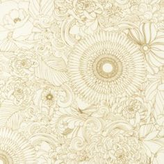 La Femme- Ivory @ $7.00 per 1/2 yard www.warpandweft.ca love this fabric....could be for the girls room 5%linen/45% cotton