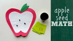 Apple Seed Math Activity for Kids