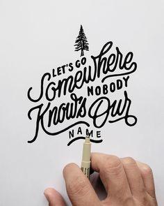 Typography artwork by @khairulitie http://ift.tt/1mZ6TkR Follow us on Instagram @stereotypeblg