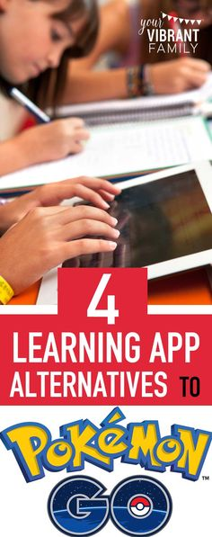 Do your kids love Pokemon Go? Moms, YOU'LL LOVE these awesome learning app alternatives!