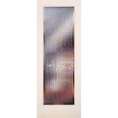 Feather River Doors 36 In. X 80 In. 1 Lite Bamboo Casting Smooth Primed MDF Interior  Door Slab
