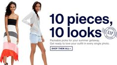 10 Pieces, 10 Looks . http://gap.us/1Fg6TiV . Shop International! Shop from the USA through #iShopinternational.com.