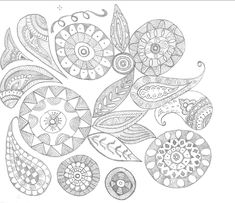 Simple Doodles, My Doodle, Bible Journal, Zentangle, Decorative Plates, Silk, Home Decor, Doodle Art Simple, Decoration Home