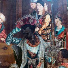 Master of the Aachen Altar  Epiphany  Germany (c. 1510)  Oil on Oak, 81 x 135 cm  Staatliche Museen, Berlin