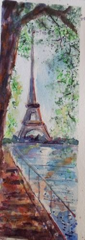 """Paris View"" by Minnie Valero"
