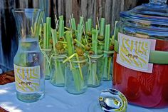 bloody mary bar...best girls brunch party idea....ever....