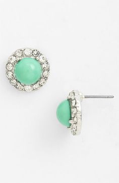 Mint Green Earrings :: Perfect for the Bride or her Maids
