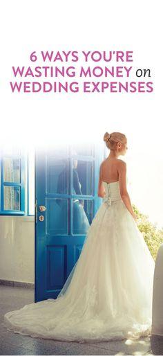 How to save money on your wedding #weddings