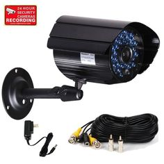Special Offers - VideoSecu Outdoor Day Night Vision IR CCTV Home Security Camera 420TVL 36 Infrared Illumination LEDs with Power Supply and Extension Cable CTB - In stock & Free Shipping. You can save more money! Check It (May 14 2016 at 09:33PM) >> http://smokealarmusa.net/videosecu-outdoor-day-night-vision-ir-cctv-home-security-camera-420tvl-36-infrared-illumination-leds-with-power-supply-and-extension-cable-ctb/
