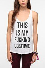 Corner Shop This Is My F*ing Costume Tank Top