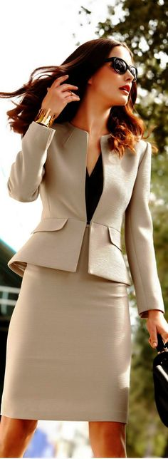 Most up-to-date Cost-Free Business Outfit blazer Style, Office Attire, Work Attire, Office Outfits, Work Outfits, Skirt Outfits, Casual Outfits, Casual Office, Dress Casual, Classy Outfits