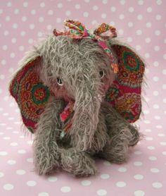 Eloise elephant by Teddy Bear Orphans