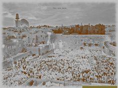 JerusalAM by Hel Mort Art #amazing #helmort #helmortart #photography #jerusalem #riot #revolution #whiteandblack #art #contemporaryart