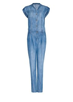 MANGO - Denim jumpsuit