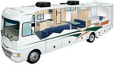 Motorhome and RV Rental in America - Elite Traveller Class A Motorhome