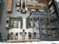 Urban Farmer, as seen from our guest floor balconies. Beautiful from every angle.