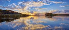 Sunset Serenade via MuralsYourWay.com