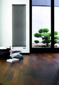 Vertical radiators. Fine lines. | simplyradiators.co.uk