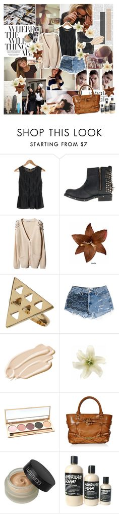 """""""throw me into the sea for my ability ♥"""" by inhaleparadise ❤ liked on Polyvore featuring Color My Life, Jeffrey Campbell, Clips, Dorothy Perkins, Again, Stila, Jane Iredale, Burberry and Laura Mercier"""