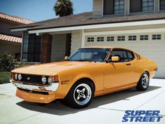 Toyota Celica - could be a good throwback reissue from Toyota