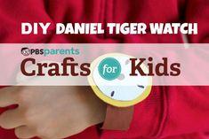 KIDSTUFF <3 Daniel Tiger - DIY SIDEWALK CHALK Video - http://www.pbs.org/parents/crafts-for-kids/daniel-tiger-watch/