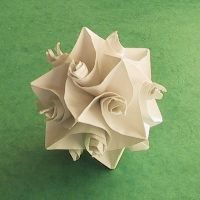 A ton of gorgeous origami sculpture tutorials
