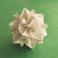 A ton of gorgeous origami sculpture tutorials